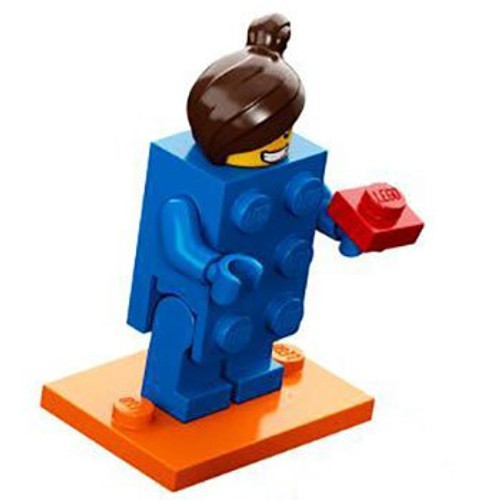LEGO® Minifigures Series 18 - Blue Brick Girl - 71021