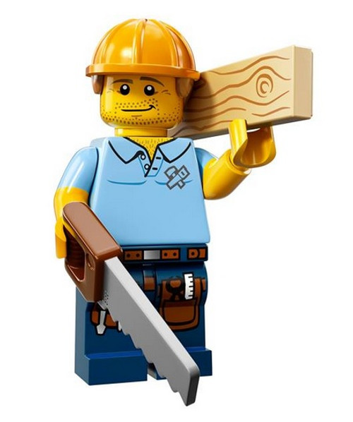 LEGO® Mini-Figures Series 13 - Carpenter
