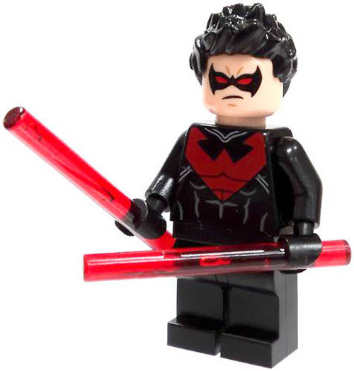 LEGO® DC Super Heroes Minifigure - Red Nightwing from 76011