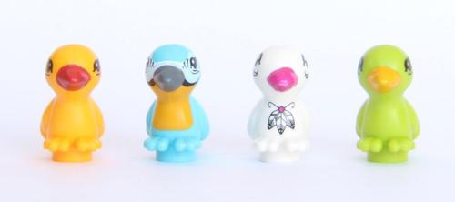 LEGO® Friends Animal Bird Lot #7 - Blue, Orange, White and Green