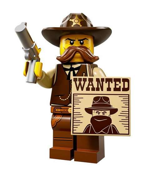 LEGO® Mini-Figures Series 13 - Sheriff
