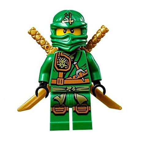 LEGO® Ninjago™ Minifigure - Zukin Robes Lloyd with Dual Gold Swords