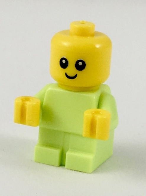 LEGO® City - Green Baby minifig (VERY small) from 60202