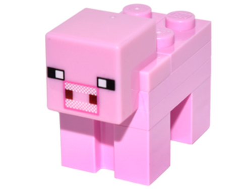 LEGO® Minecraft™ Pink Pig from 21115