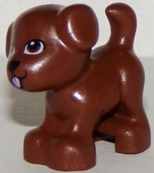 LEGO® Friends Brown Puppy - from set 41330