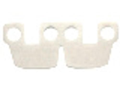 LEGO® White Armor Kama Cape - Genuine LEGO (from 75054)
