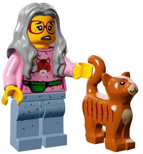 LEGO® Mini-Figures The LEGO Movie -  Mrs Scratchen Post