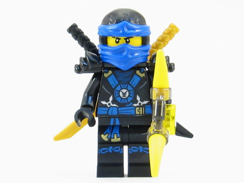 LEGO® Ninjago™ Jay Deepstone Minifigure 2015 with Aeroblade