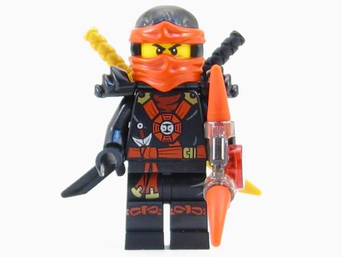 LEGO® Ninjago™ Kai Deepstone Minifigure 2015 with Aeroblade