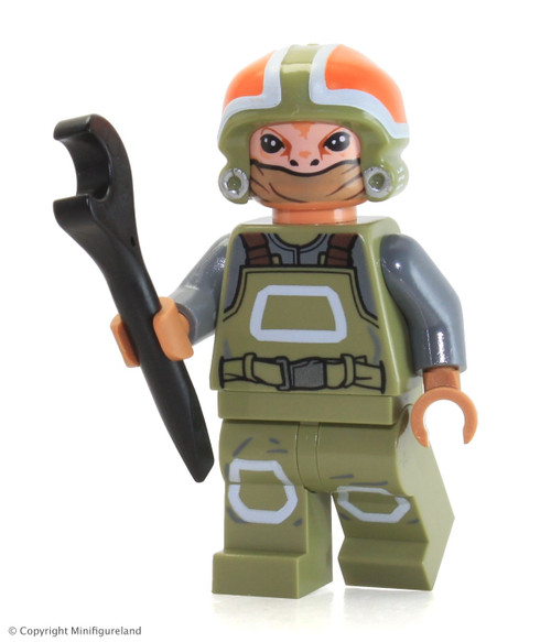 LEGO® Star Wars: Resistance Grounds Crew Member from 75102