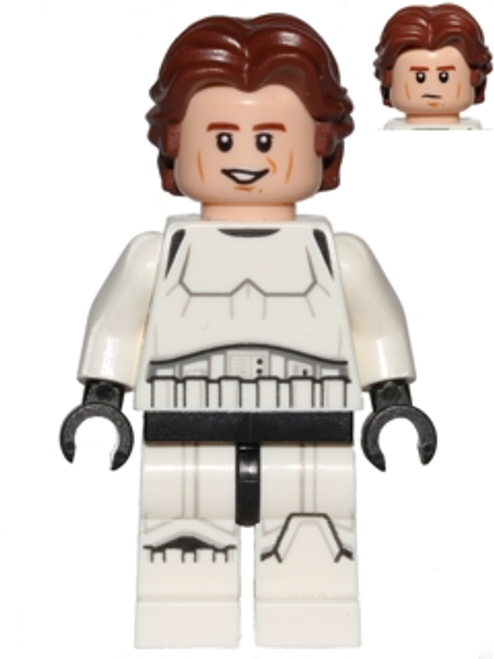 LEGO® Star Wars: Han Solo minifig in Stormtrooper Outfit from 75159