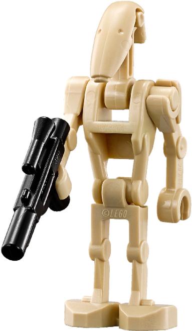 LEGO® Star Wars Minifigure Battle Droid with Blaster Gun (Clone Wars)