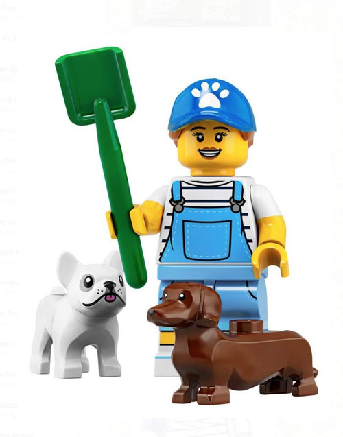 LEGO® Minifigures Series 19 - Dog Sitter with Dogs 71025