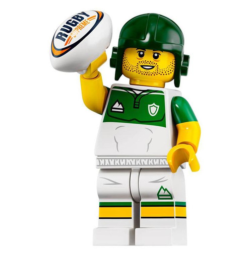 LEGO® Minifigures Series 19 - Rugby Player 71025