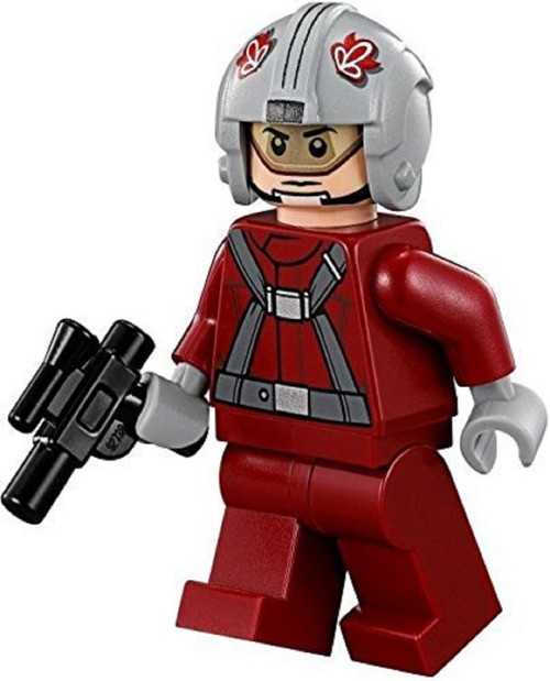 LEGO® Star Wars:T-16 Skyhopper Pilot Red with Blaster Gun (75081)