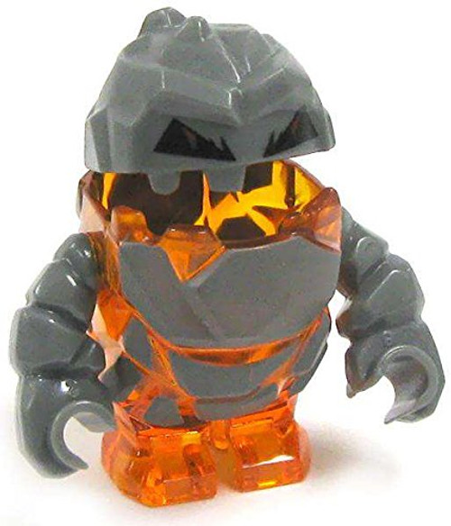Rock Monster FIROX (Trans-orange) Power Miners Minifigure (USED)