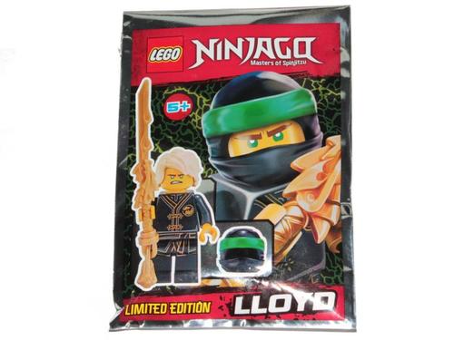 LEGO® Ninjago - Lloyd Wu Cru with Dragon Sword and Tassel