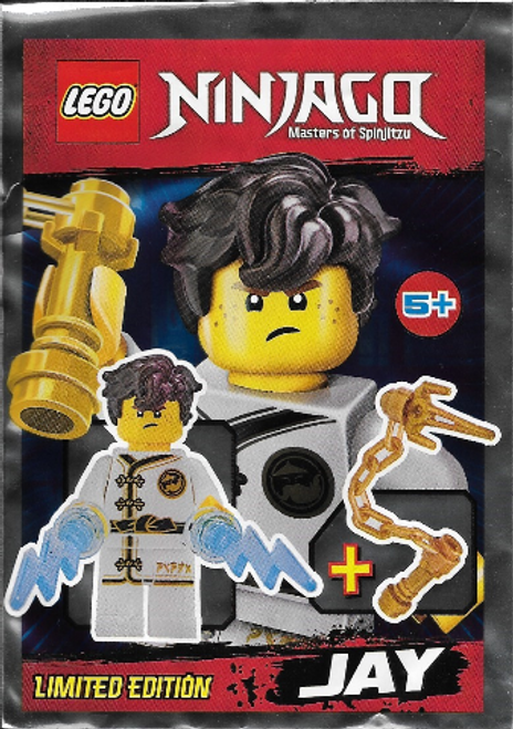 LEGO® Ninjago Jay White Kimono with Morning Star Flashes - Limited Edition