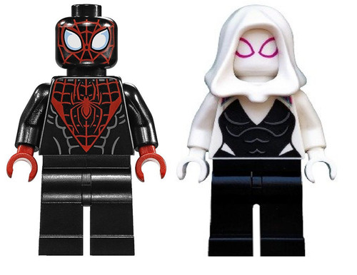 LEGO Super Heroes™ Miles Morales and Gwen Stacey - Ghost Spider