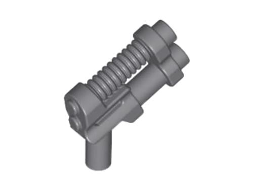 LEGO® - Blaster Pistol with Two Barrels - Dark Grey