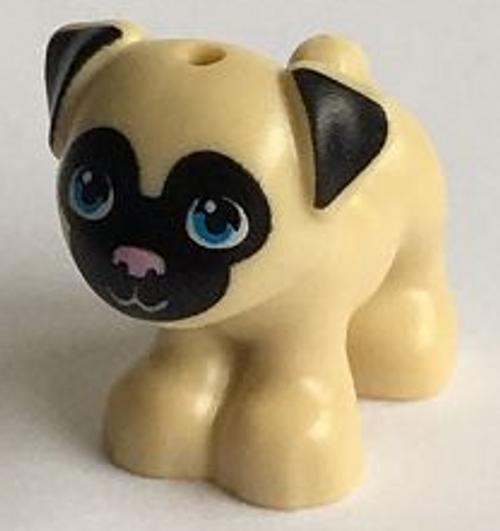 LEGO® Animal City Friends - Pug Dog - Toffee