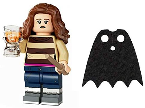LEGO Harry Potter Series 2 Hermione with Butterbeer and Extra Black Spongy Cape