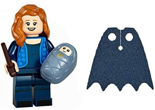 LEGO Harry Potter Series 2 Lily Potter with Baby Harry and Extra Blue Spongy Cape