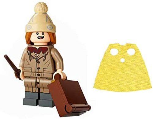 LEGO Harry Potter Series 2 Fred Weasley with Joke Box and Extra Short Yellow Cape