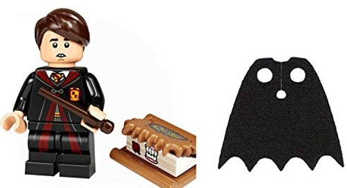 LEGO Harry Potter Series 2 Neville Longbottom with Book of Monsters and Extra Black Spongy Cape