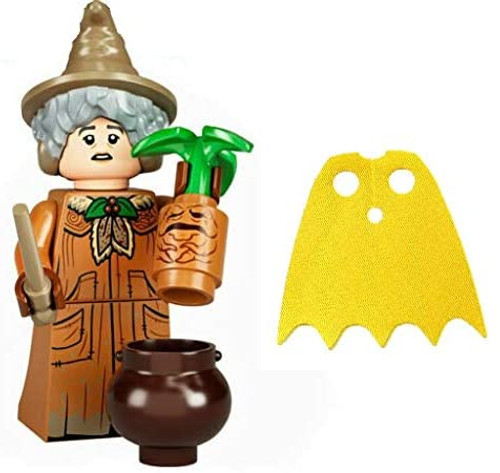 LEGO Harry Potter Series 2 Mrs Pomona Sprout and Extra Yellow Cape