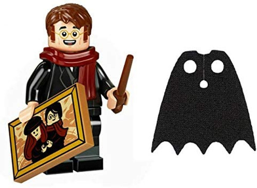 LEGO Harry Potter Series 2 James Potter with Photograph and Extra Blue Spongy Cape