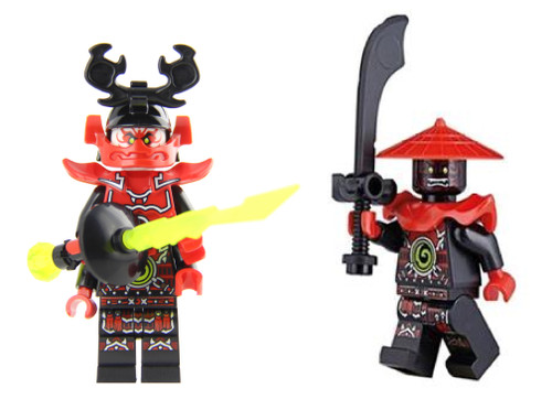 LEGO Ninjago Sensei Master Wu Legacy with Golden Staff