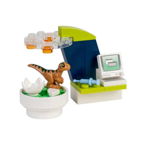 LEGO Jurassic World: Create a Dinosaur Laboratory