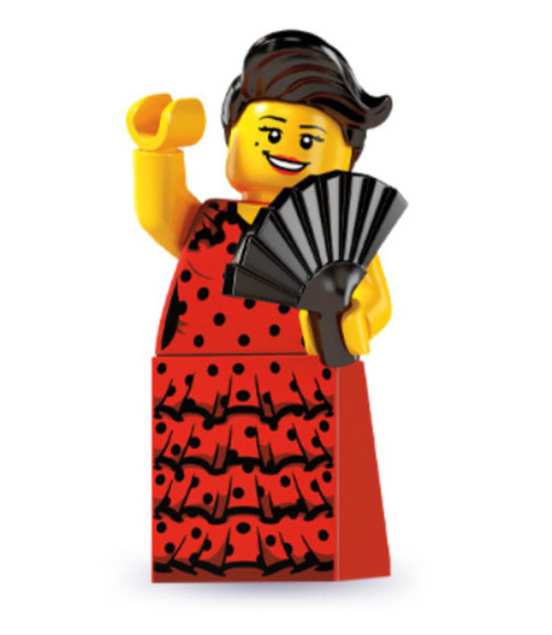 LEGO® Mini-Figures Series 6 - Flamenco Dancer