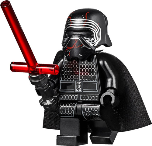 LEGO Star Wars The Rise of Skywalker: Supreme Leader Kylo Ren (with Lightsaber)
