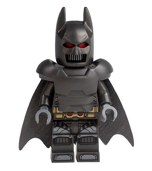 LEGO DC Superheroes: Grey Batman with Armor and Cape
