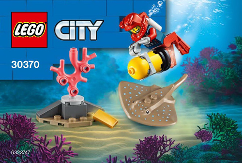 LEGO City: Ocean Diver Poly Set 30370