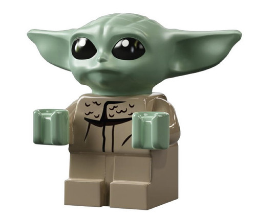 LEGO Star Wars The Mandalorian: Baby Yoda (The Child) Minifig Grogu (Very Small)