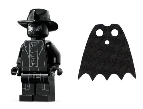 LEGO Superheroes: Spiderman Noir plus Black Cape
