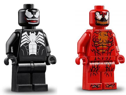 LEGO Superheroes: Venom and Carnage Minifigs