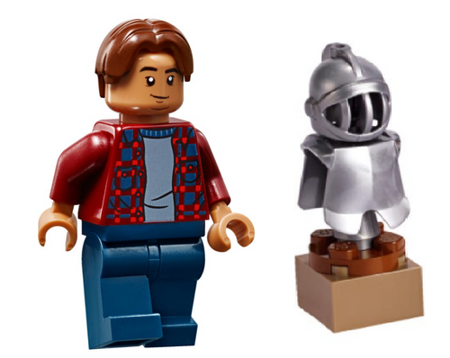 LEGO Superheroes: Ned Leeds with Knight Armor