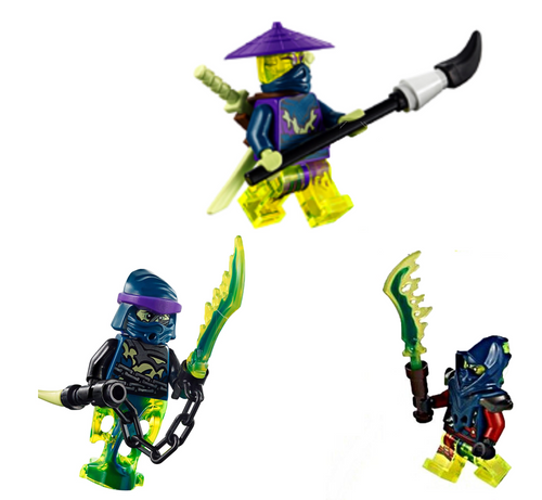 NEW LEGO Chain Master Wrayth FROM SET 70736 NINJAGO Ghost Lower Body njo155