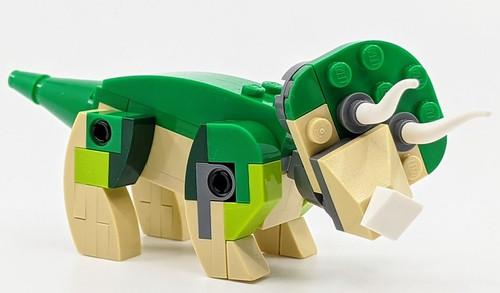 LEGO Jurassic World Mini Set: Triceratops Dinosaur  (65 pcs)