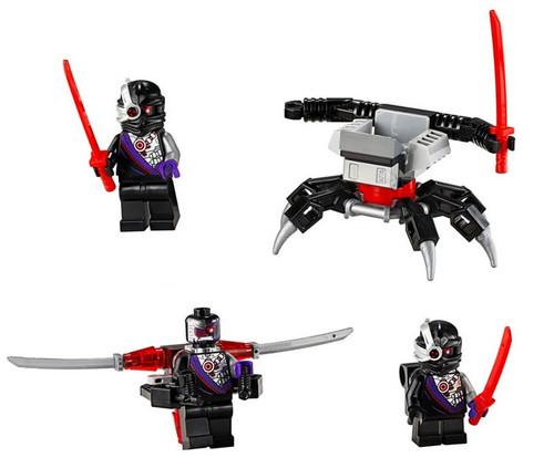 LEGO Ninjago: 3 Nindroid Army with Crawler