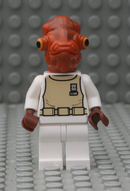 LEGO® Star Wars: Admiral Ackbar - White outfit