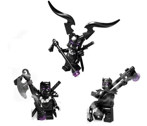 LEGO Ninjago: Army of 3 Oni Warriors Villains