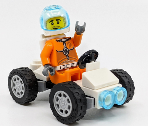 LEGO City: Astronaut on Moon Rover