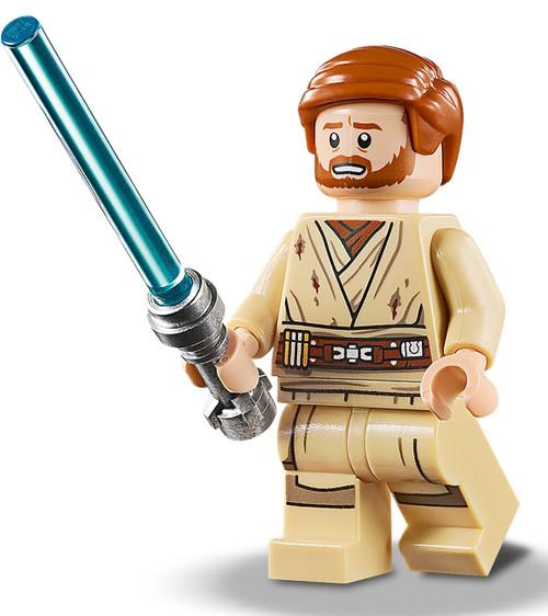 LEGO Star Wars: Obi Wan Kenobi Mustafar with Lightsaber (ObiWan75269)