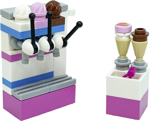 LEGO Friends Accessory Set: Ice Cream Parlor (38 pcs) (IceCremeFoil561907)