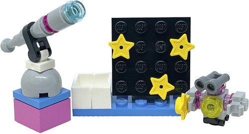LEGO Friends Accessory Set: Olivia's Observatory (20 pcs) (ObservatoryFoil561810)